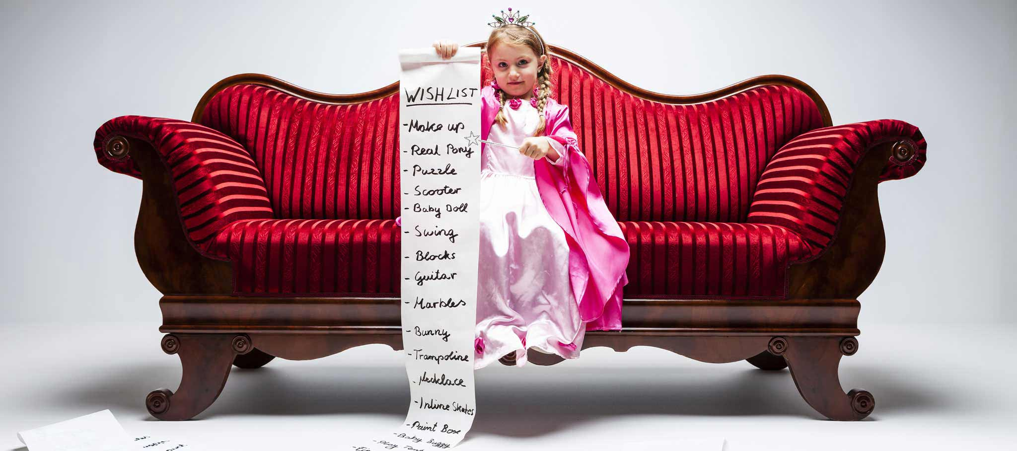My Little Princess Party Wish List