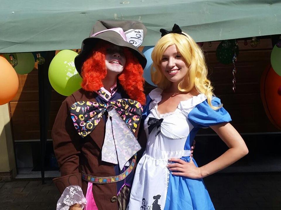 Alice in Wonderland Mad Hatter Tea Party Children Entertainers Theme