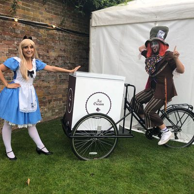 Alice, Hatter & Ice Cream