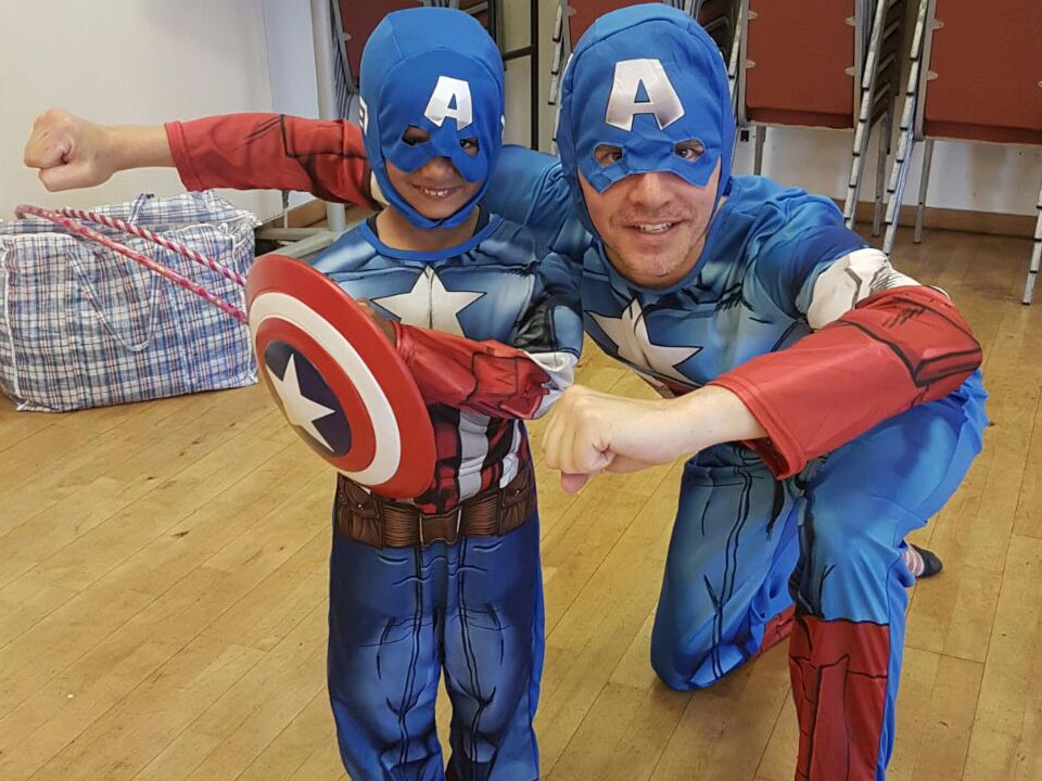 Captain America Avengers Children's Professional Party Entertainer