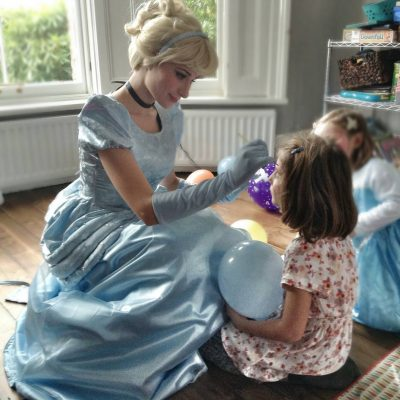 Cinderella Face Painting