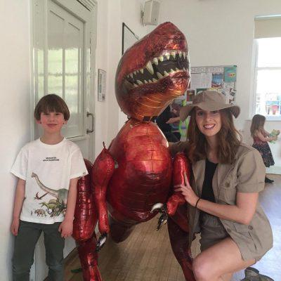 Dinosaur kids parties