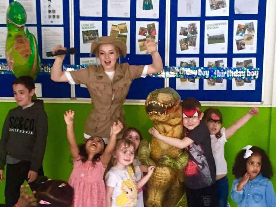 Dinosaur Monster Jurassic Kids Party Entertainer