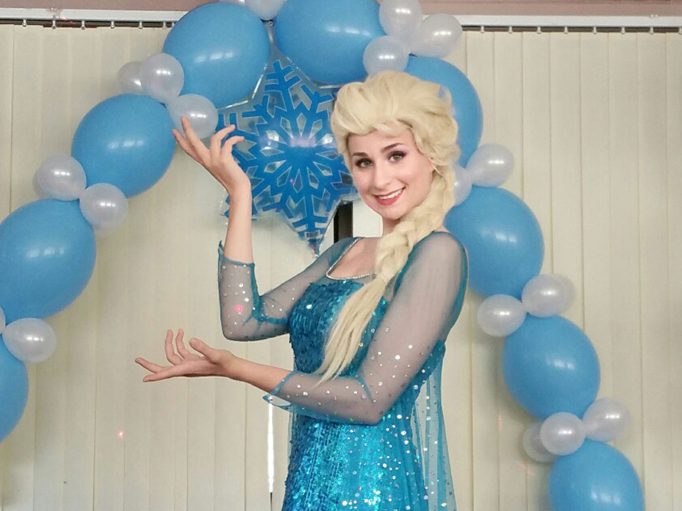 Frozen Fever Snow Queen Anna Children Entertainer Party Theme