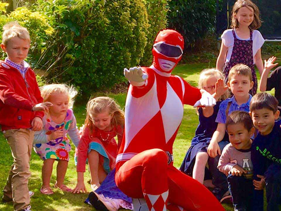 Power Ranger Party Children Entertainer