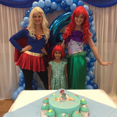 Supergirl and Ariel