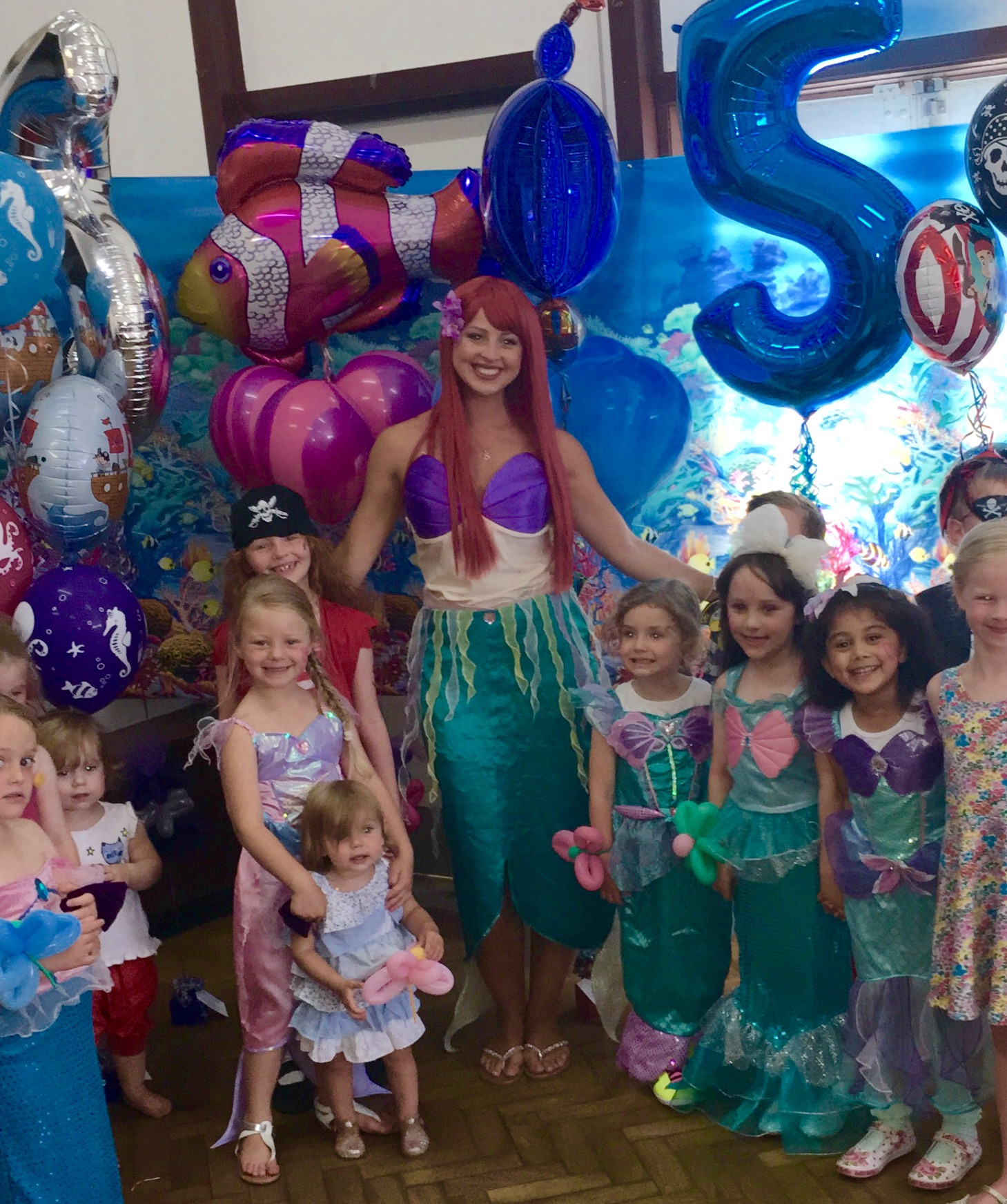 Little Mermaid Children Entertainer