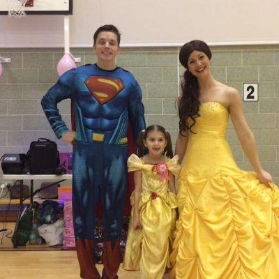 Superman and Princess party