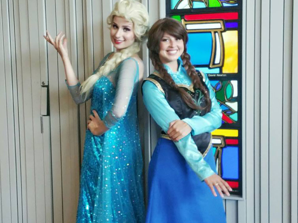 Frozen Children Party Entertainers Anna Elsa Disney