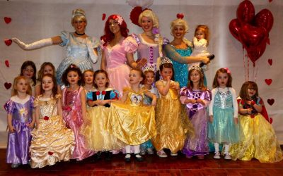 Valentine's Princess Party at Hoebridge Golf Centre