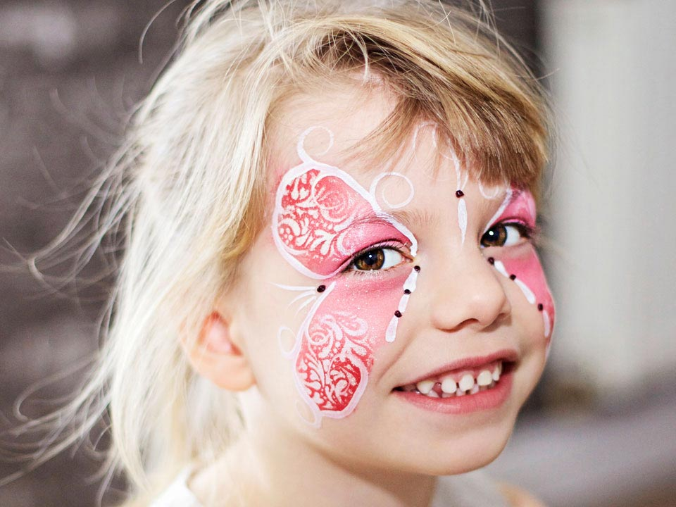 Facepainting Faec Painter Child Party Entertainer