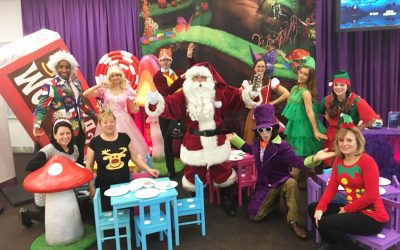 A Scrumdiddlyumptious Christmas Party