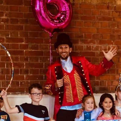 The Greatest Showman party theme