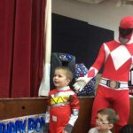Power rangers child party