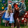 Alice and Mad Hatter children party