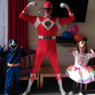 Power Rangers party