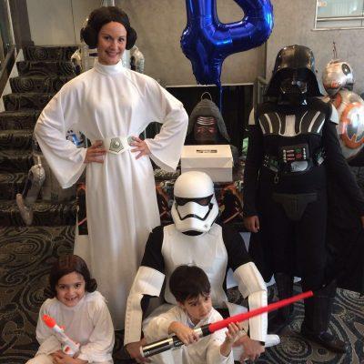 Starwars kid party