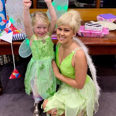 Tinkerbell fairy parties
