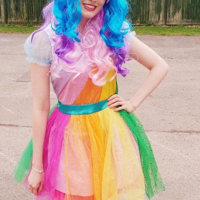 Unicorn rainbow child party